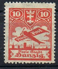 Free city of Danzig 1924