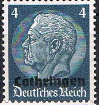 1940 German Occupation Lothringen