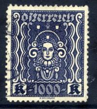 AUSTRIA 1922-24 Definitive