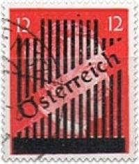 Wiener overprint on Hitler 5-42 Pf.
