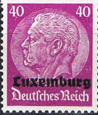 1940 German Occupation Luxemburg