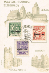 1946 Germany Local Issue Eilenburg