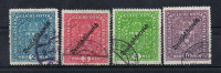 German-Austrian overprint high values