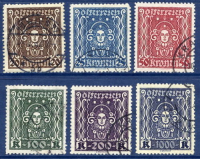 AUSTRIA 1922-24