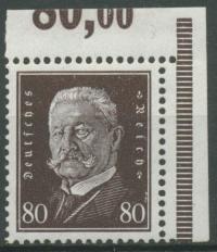 Deutsches Reich 1928 Hindenburg